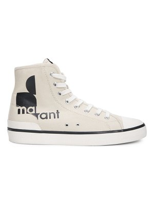 Isabel Marant benkeen logo canvas sneakers