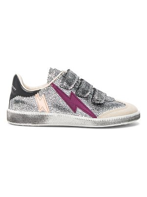Isabel Marant Beth Metallic Sneakers