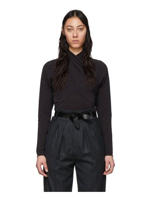 Isabel Marant black georgina blouse