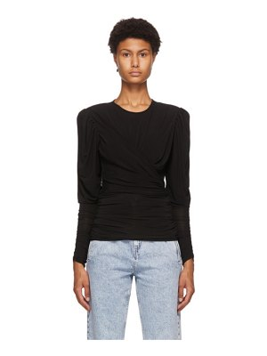 Isabel Marant black gimli top