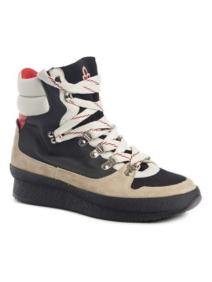 Isabel Marant brendta high top sneaker boot