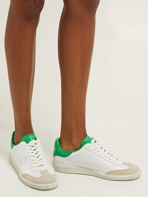 Isabel Marant Bryce Lace Up Leather Trainers