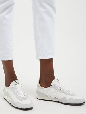 Isabel Marant Bustee Lightning Bolt Nylon Low Top Trainers