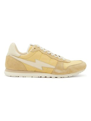 Isabel Marant bustee suede and mesh trainers