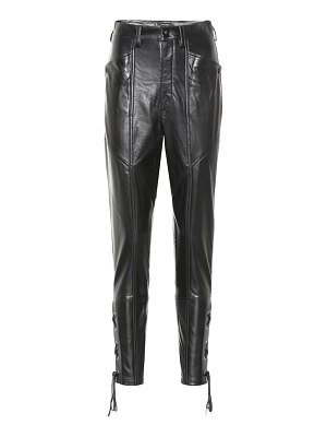 Isabel Marant cadix leather pants