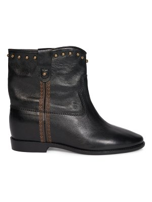 Isabel Marant cluster wide leather boots