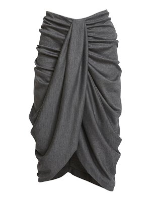 Isabel Marant datisca draped wool skirt