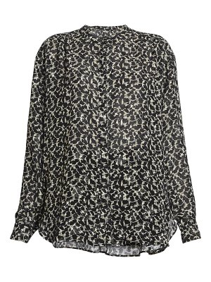Isabel Marant daws metallic silk blouse