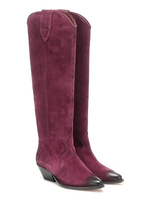 Isabel Marant denvee suede knee-high boots