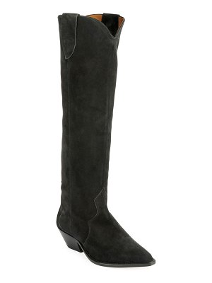 Isabel Marant Denvee Suede Tall Boots