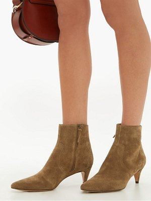 Isabel Marant derst point toe suede ankle boots
