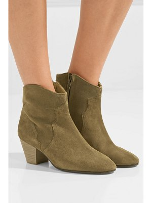 Isabel Marant dicker suede ankle boots