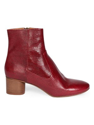 Isabel Marant dusta embossed leather ankle boots