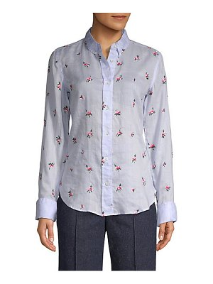 Isabel Marant Embroidered Button-Down Shirt