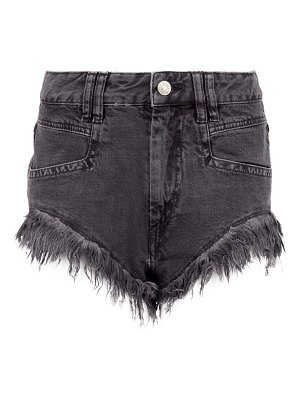 Isabel Marant eneida frayed-hem denim shorts