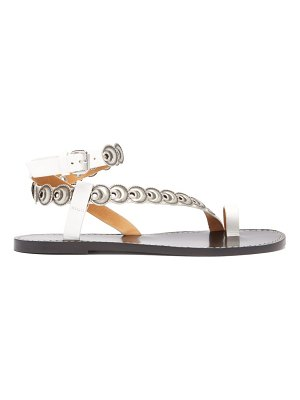 Isabel Marant ermony coin-embellished leather sandals