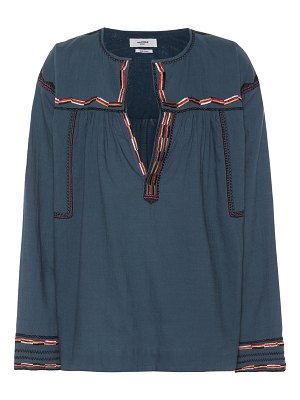 Isabel Marant, Étoile Bilcky embroidered cotton top