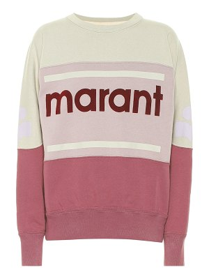 Isabel Marant, Étoile gallian logo cotton-blend sweatshirt