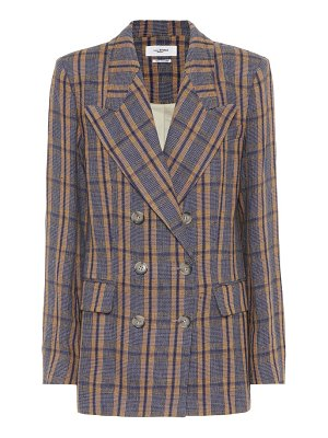 Isabel Marant, Étoile Ianey plaid linen jacket