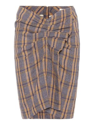 Isabel Marant, Étoile ines plaid skirt