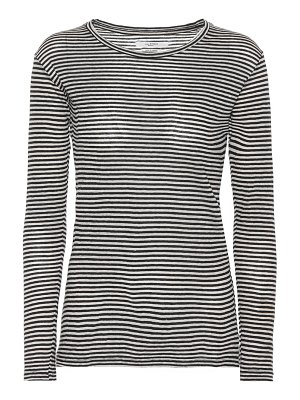 Isabel Marant, Étoile Kaaron striped cotton and linen top