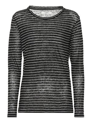 Isabel Marant, Étoile Kaaron striped linen and cotton top