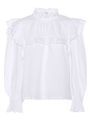Isabel Marant, Étoile ted ruffled linen blouse