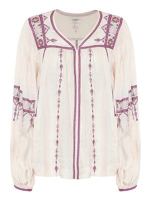Isabel Marant, Étoile tosca embroidered silk blouse