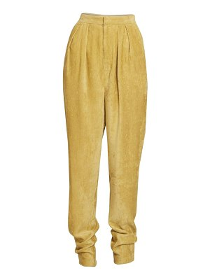 Isabel Marant fany corduroy tapered trousers