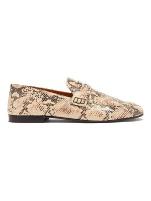 Isabel Marant fezzy collapsible-heel leather loafers