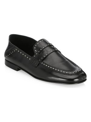 Isabel Marant fezzy driver studded loafers