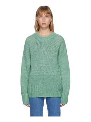 Isabel Marant green mohair estelle sweater