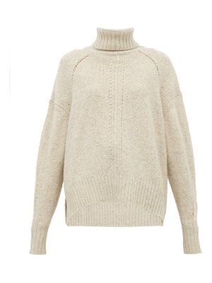 Isabel Marant harriet knitted roll neck cashmere sweater