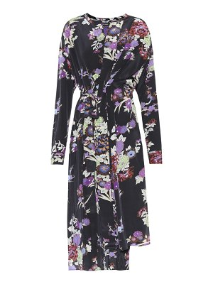 Isabel Marant Iam floral-printed silk dress