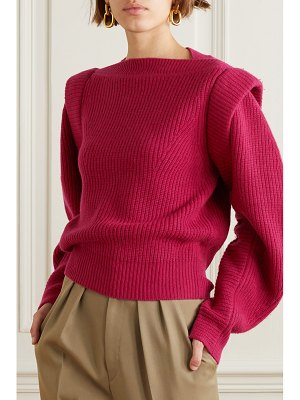 Isabel Marant jody ribbed wool and cashmere-blend sweater