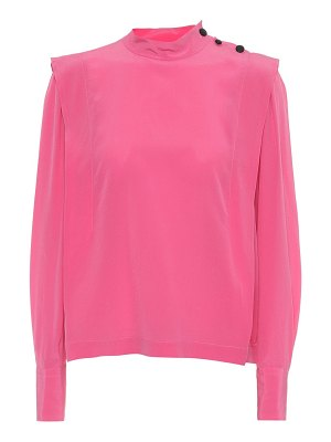 Isabel Marant kelissa silk top