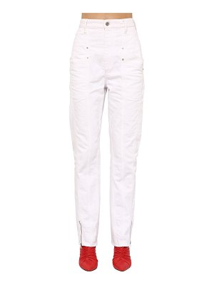 Isabel Marant Kelissa straight leg cotton denim jeans