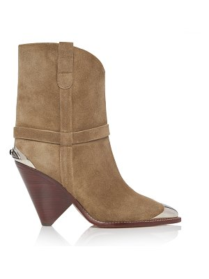 Isabel Marant lamsy calf suede boots
