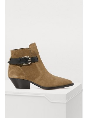 Isabel Marant Leather Ducklee boots