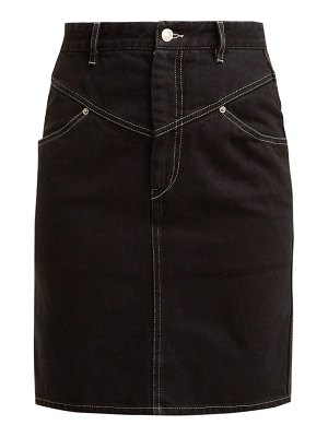 Isabel Marant Lorine Denim Pencil Skirt