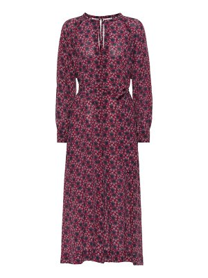 Isabel Marant Lympia floral silk dress