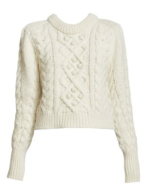 Isabel Marant milford cable-knit sweater