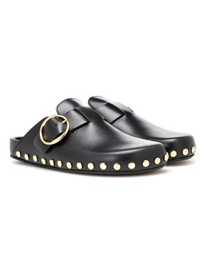 Isabel Marant Mirvin studded leather slippers