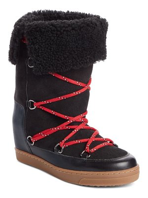 Isabel Marant nowlsty snow boot