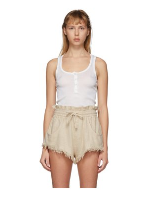 Isabel Marant off-white louisali tank top