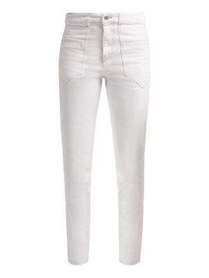 Isabel Marant Overa High Rise Slim Fit Jeans