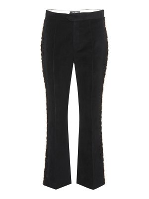 Isabel Marant philea embellished trousers