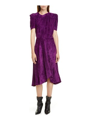 Isabel Marant puff sleeve corduroy dress