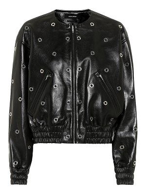 Isabel Marant quenty leather bomber jacket