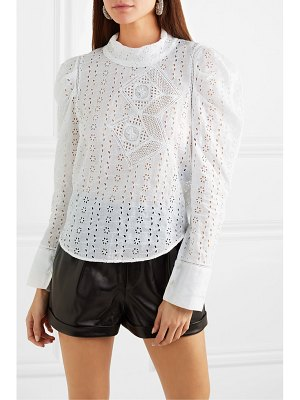 Isabel Marant qyandi broderie anglaise blouse